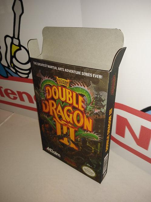 Double Dragon 3 Box