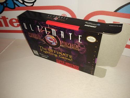 Ultimate Mortal Kombat 3 Box