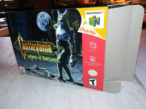 Castlevania Legacy of Darkness Box