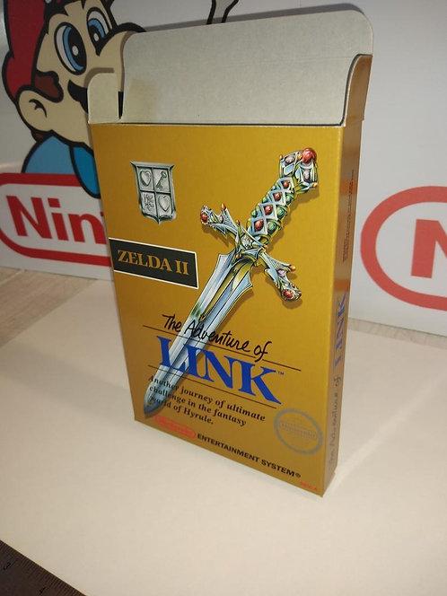 Zelda II: The Adventure of Link Box