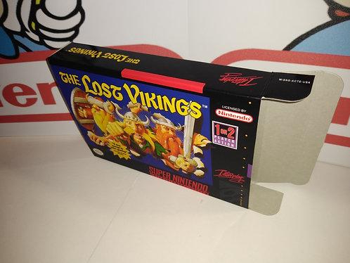 The Lost Vikings Box