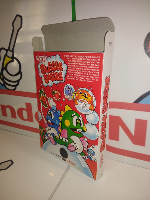 Bubble Bobble Box