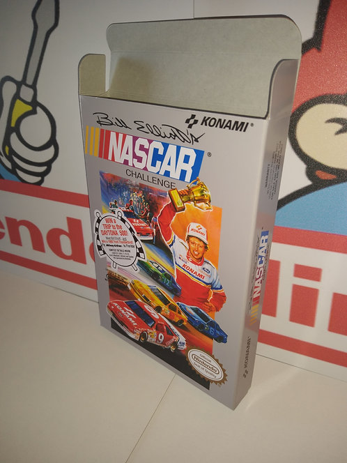 Bill Elliott's NASCAR Challenge Box
