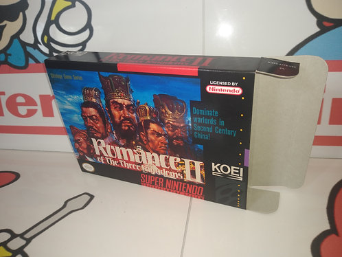 Romance of the Three Kingdoms II Box