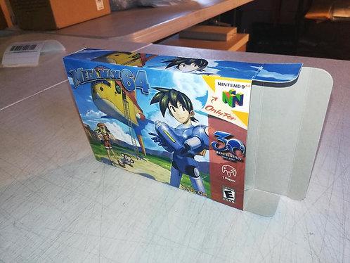 Mega Man 64 Custom Box