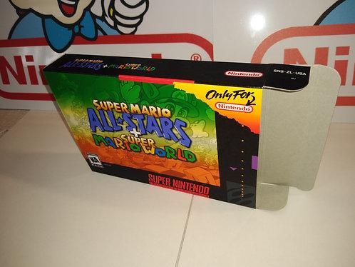 Super Mario All-Stars + World Box