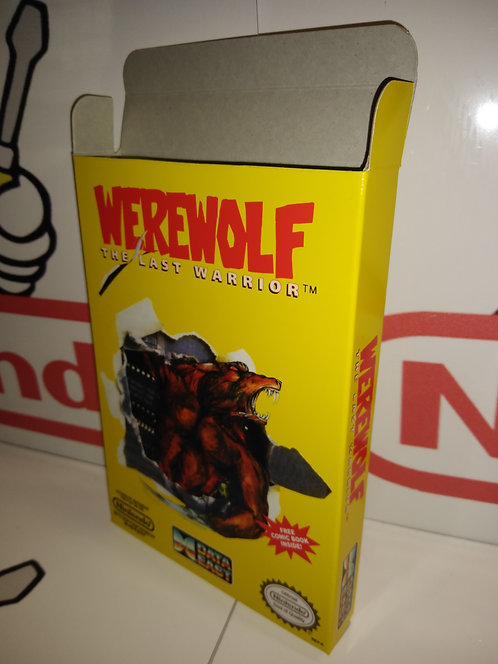 Werewolf The Last Warrior Box