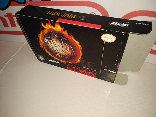 NBA Jam Tournament Edition Box