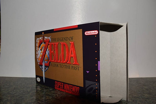 The Legend of Zelda: A Link to the Past Box