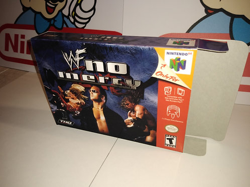 WWF No Mercy Box