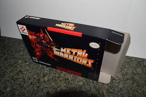 Metal Warriors Box