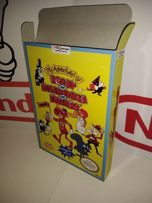 The Adventures of Rocky and Bullwinkle and Friends Box