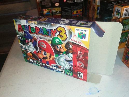Mario Party 3 Box