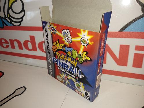 Pokemon Pinball: Ruby & Sapphire Box