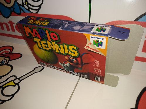 Mario Tennis 64 Box