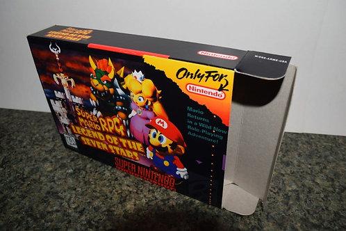 Super Mario RPG Box