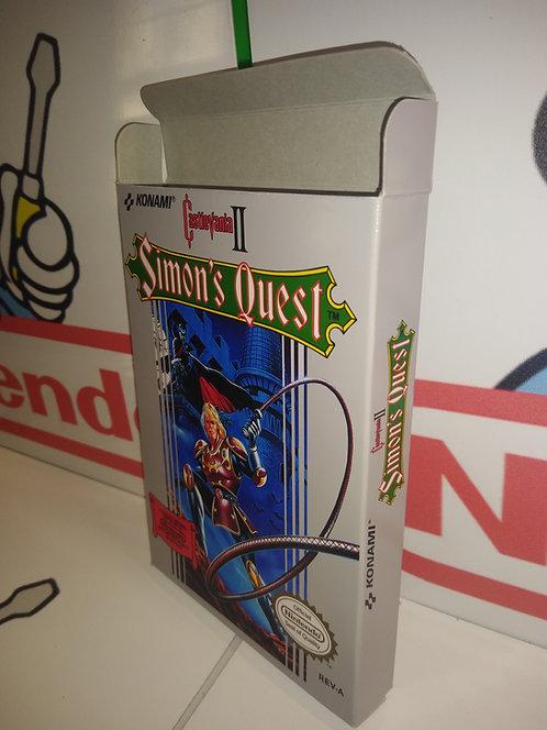 Castlevania 2: Simon's Quest Box