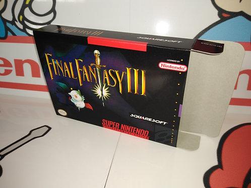Final Fantasy 3 Box