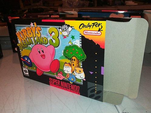 Kirby's Dream Land 3 Box
