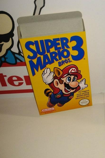 Super Mario Bros. 3 Box