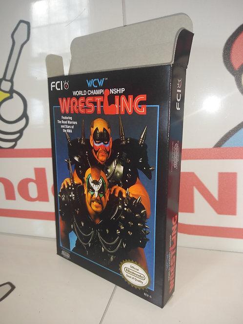WCW World Championship Wrestling Box