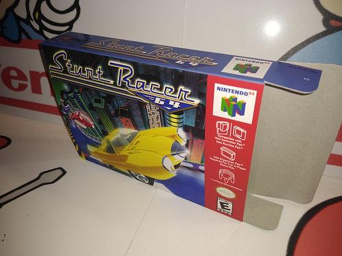 Stunt Racer 64 Box