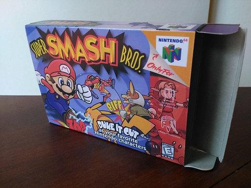 Super Smash Bros. 64 Box