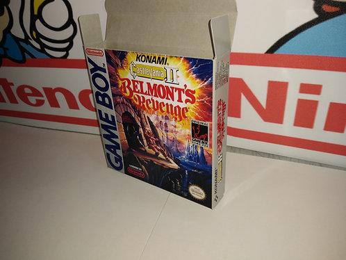 Castlevania II: Belmont's Revenge Box