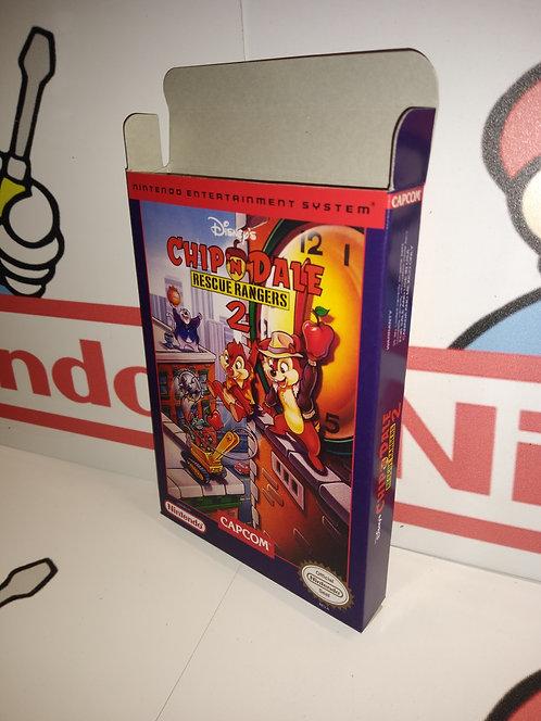 Chip 'n Dale Rescue Rangers 2 Box
