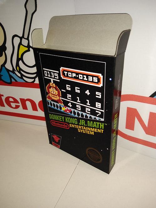 Donkey Kong Jr. Math Box
