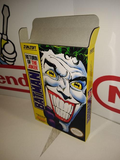 Batman Return of the Joker Box