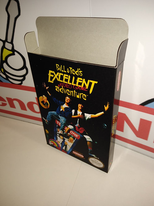 Bill & Ted's Excellent Video Game Adventure Box