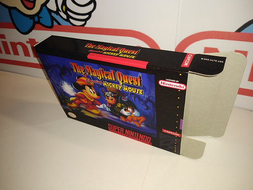 The Magical Quest Starring Mickey Mouse Box