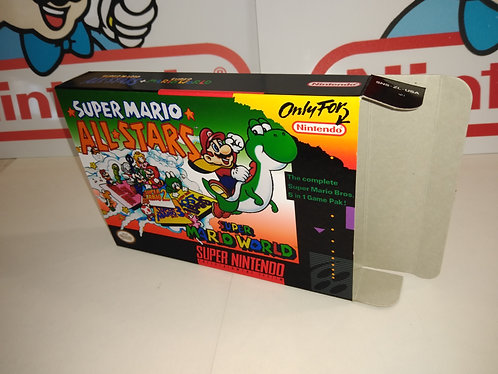 Super Mario All-Stars + World (Variant) Box