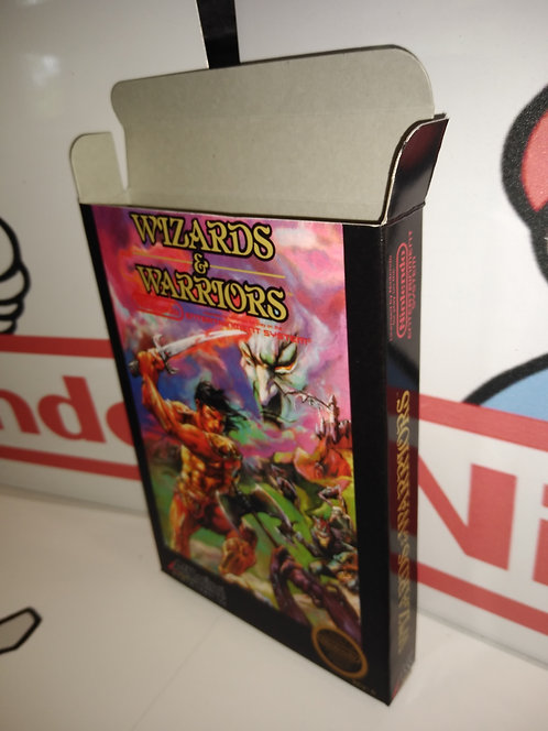 Wizards & Warriors Box