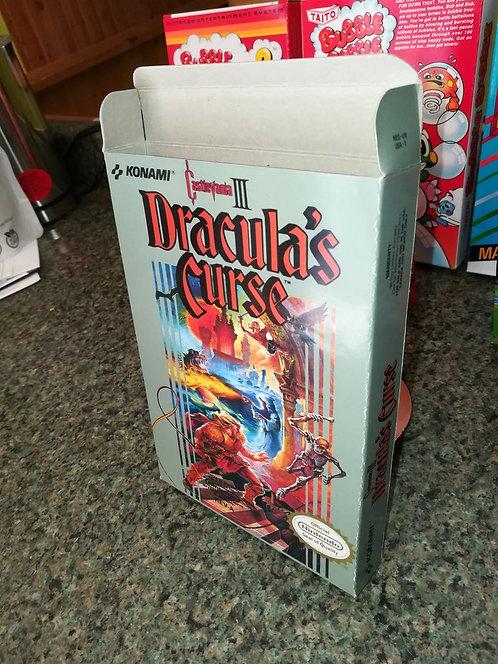Castlevania III (3) Dracula's Curse Box