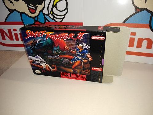 Street Fighter II Box