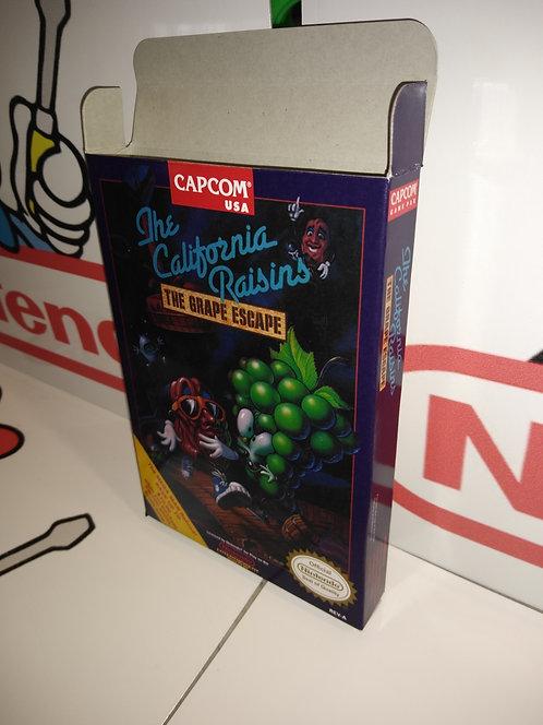 California Raisins The Grape Escape Box