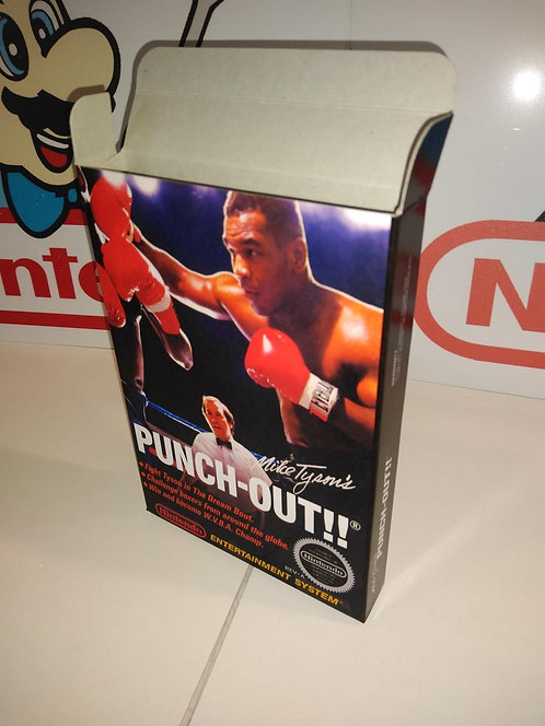 Mike Tyson's Punch Out !! Box