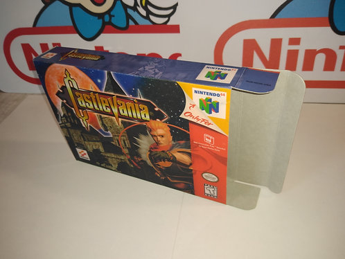 Castlevania 64 Box