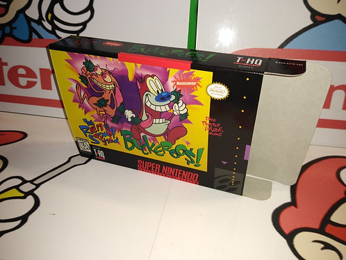 The Ren & Stimpy Show: Buckaroo$! Box