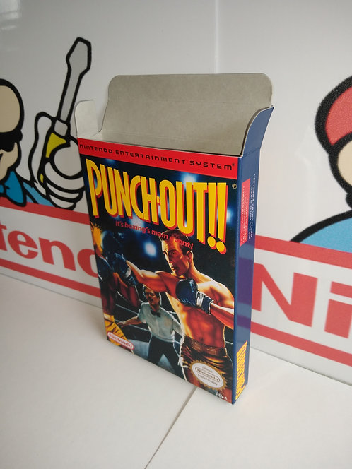 Punch Out!! Box