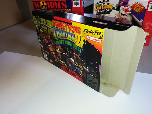 Donkey Kong Country 2 Diddy's Kong Quest Box