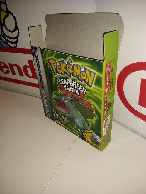 Pokemon Leaf Green Box