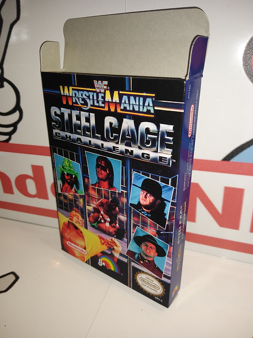 WWF WrestleMania Steel Cage Challenge Box