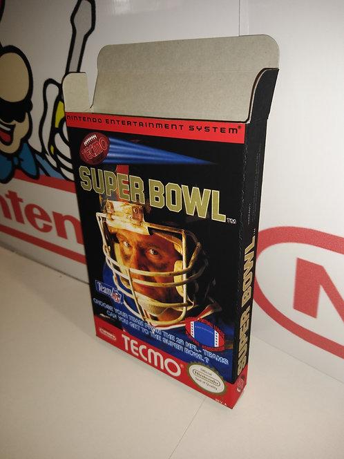 Tecmo Super Bowl Box