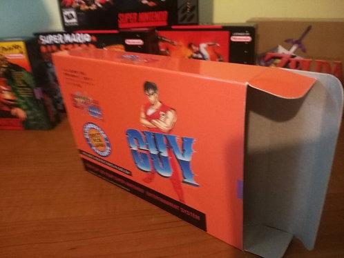 Final Fight Guy Box