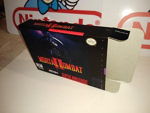 Mortal Kombat II 2 Box