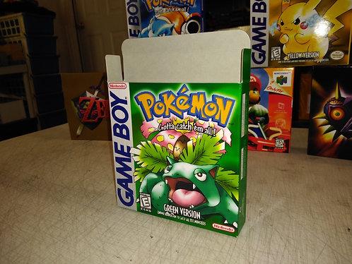 Pokemon Green Box