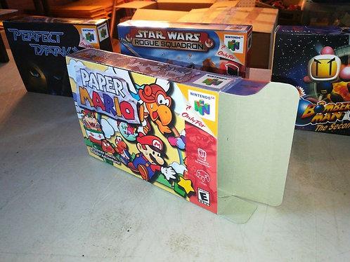 Paper Mario 64 Box